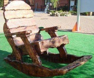 "Кресло-качалка под старину ""Лесник"""