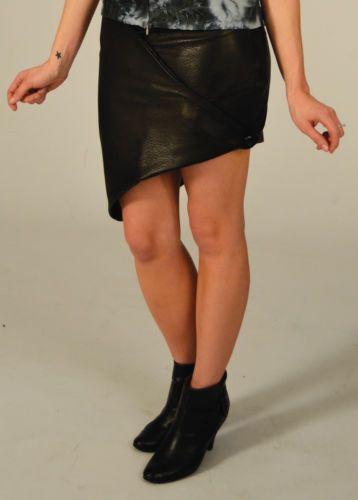 Handmade-Steampunk-Style-Black-Leather-Skirt