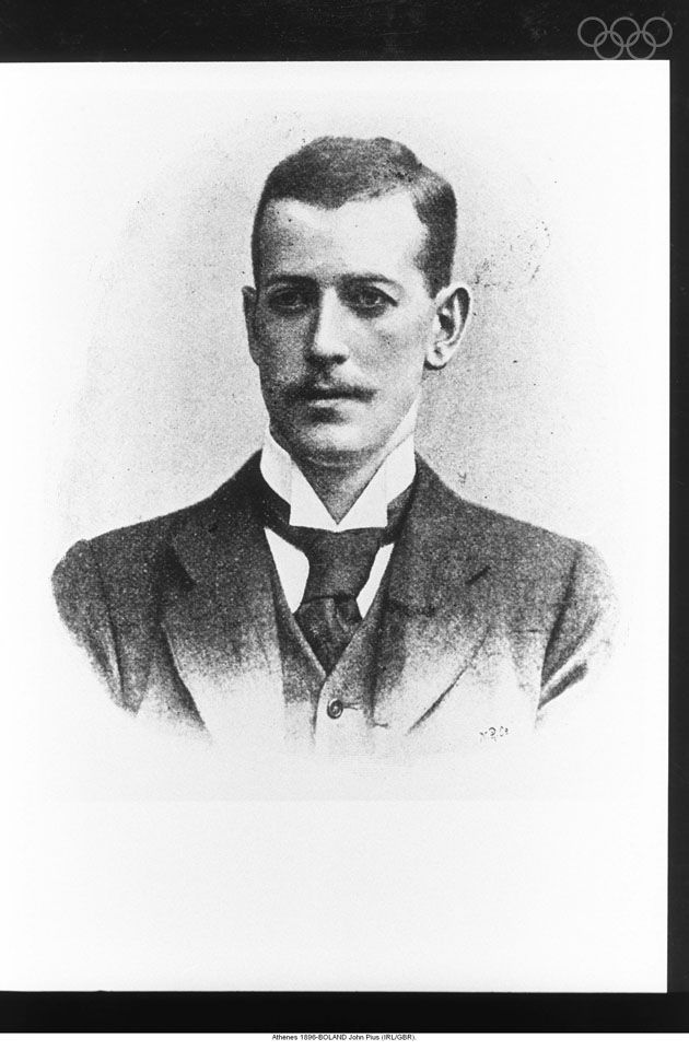 John Pius Boland is the first Olympic champion in tennis for Team GB. He won gold in the tennis singles title in Athens 1896.