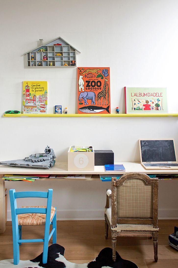 Desk wooden children s desk moulin roty furniture children s desk - Diy Shelf For Toys Petit Small