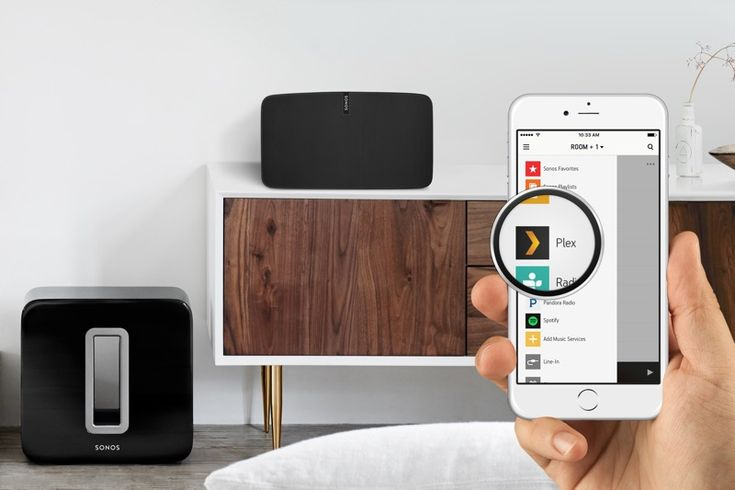 Sonos App Now Supports Streaming Music From Plex