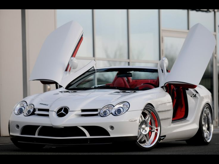 mercedes benz slr. boom bitch, get out of the way!