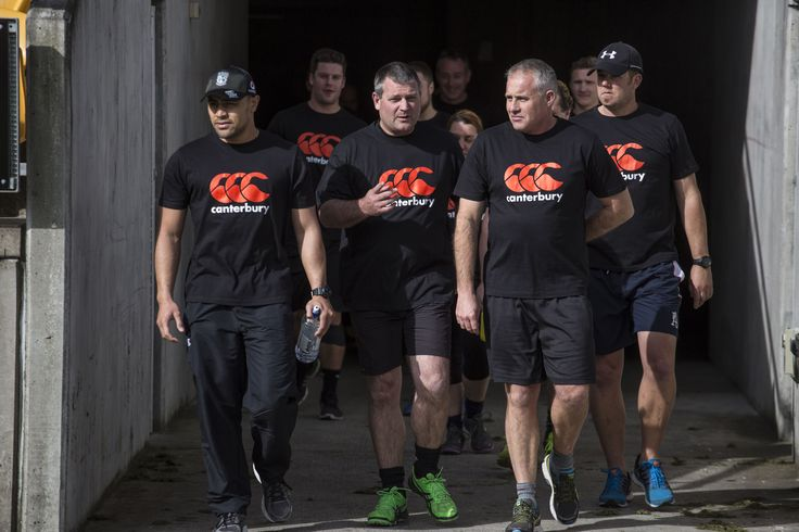 Walking the famous tunnel at the MT Smart Stadium, home ground of the Vodafone Warriors.  these lucky VIP competition winners spent the afternoon training with the mighty Warriors as part of their once in a lifetime prize.