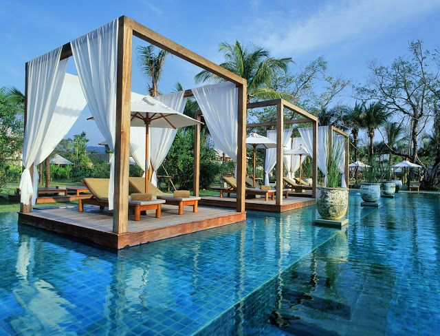 Details About Architecture Beautiful Tropical Retreat In Lush And Infinity Pool Tropical House Plans