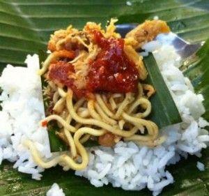 Resep Nasi Jinggo ( Bali )