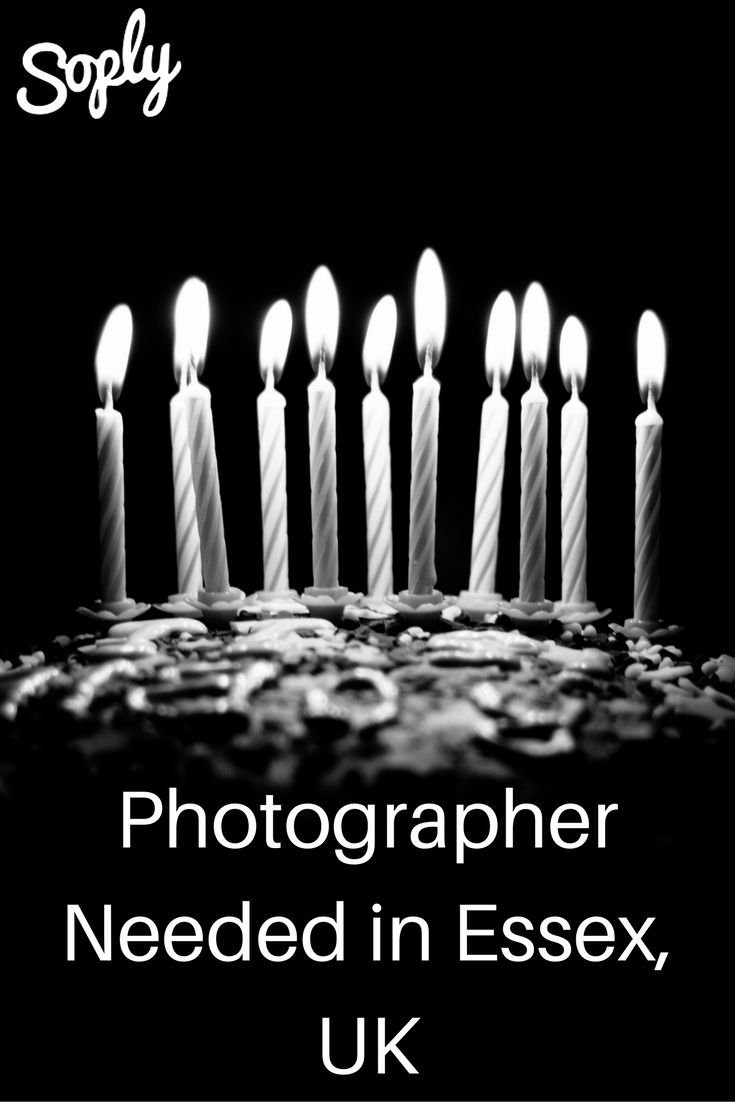 #Photographer needed for a 13th #birthday #party in May 2017 in #Essex #UK. See the #photography job by clicking the pin!