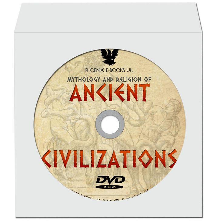 MYTHOLOGY & RELIGION of Ancient Civilizations 203 pdf Books on DVD-Rom Ancient History, Greece, Rome, Egypt, Vintage Books by PhoenixEbooksUK on Etsy