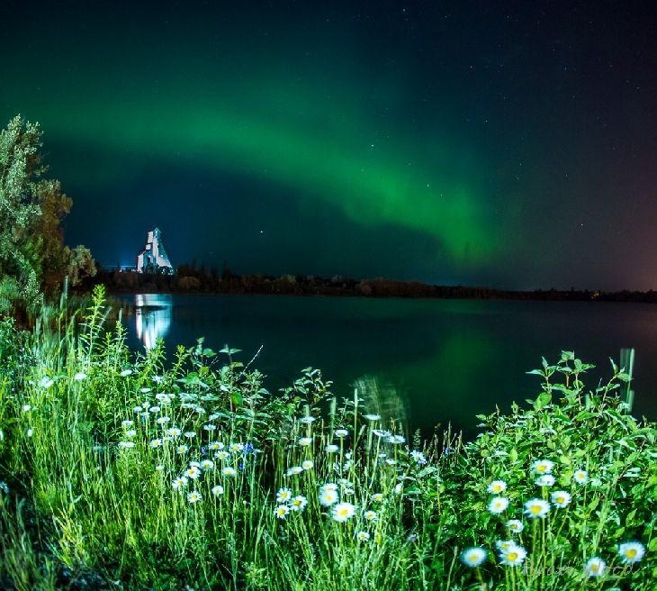 Auroras Taken by Brad Wood on July 6, 2013 @ Timmins, Ontario Canada