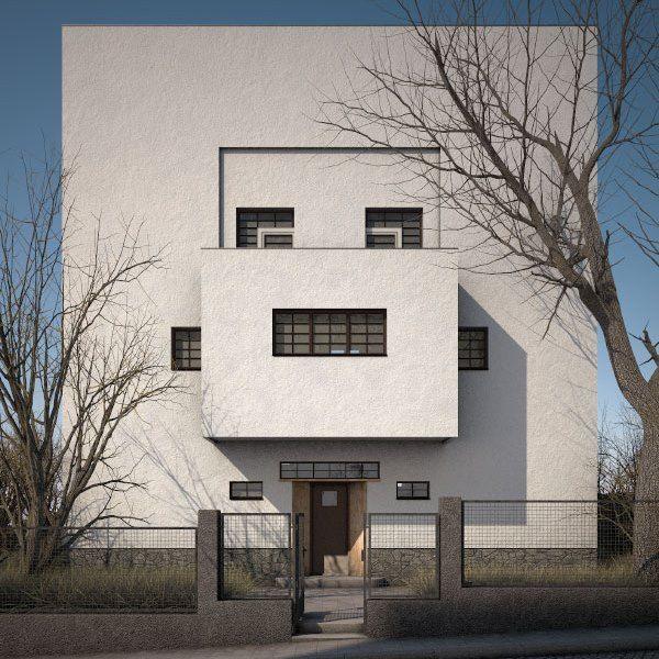Villa Moller, Vienna Austria (1928) | Adolf Loos