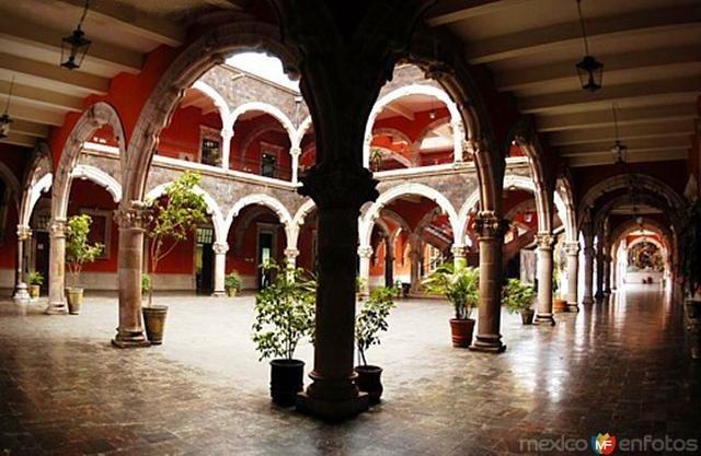 Palacio de Gobierno, Aguascalientes, México.  I remember as a kid saying I would have my wedding here