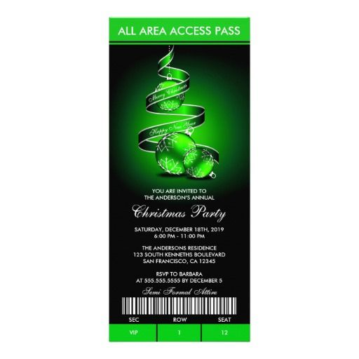 32 best images about Ticket Style Invitations – Office Christmas Party Invitation Template