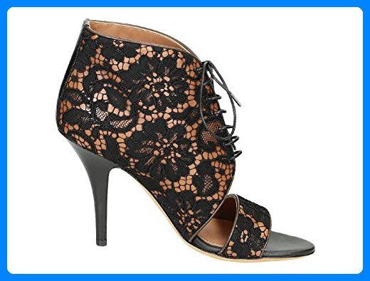 Givenchy Damen Be091993081822 Schwarz Stoff Sandalen - Sandalen für frauen (*Partner-Link)