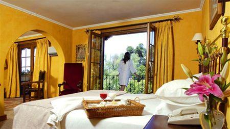 Hotel Santa Cruz.. guestrooms. #Colchagua