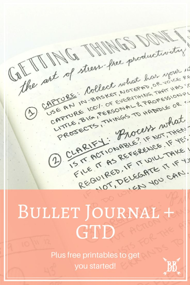 While there are many ways to implement GTD (digitally, paper-based systems, productivity apps, filing systems), I decided to go with the one that felt the most natural to me --- putting pen to paper. Today I'm walking you through how I'm combining the GTD methodology with my Bullet Journal