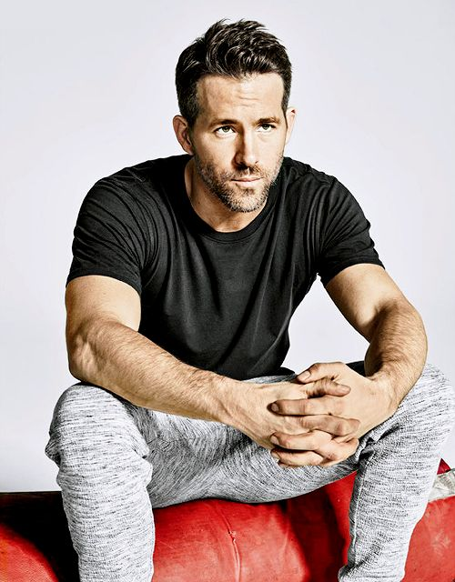 Ryan Reynolds photographed by Ture Lillegraven for Men's Health, March 2016.
