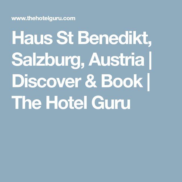 Haus St Benedikt, Salzburg, Austria | Discover & Book | The Hotel Guru