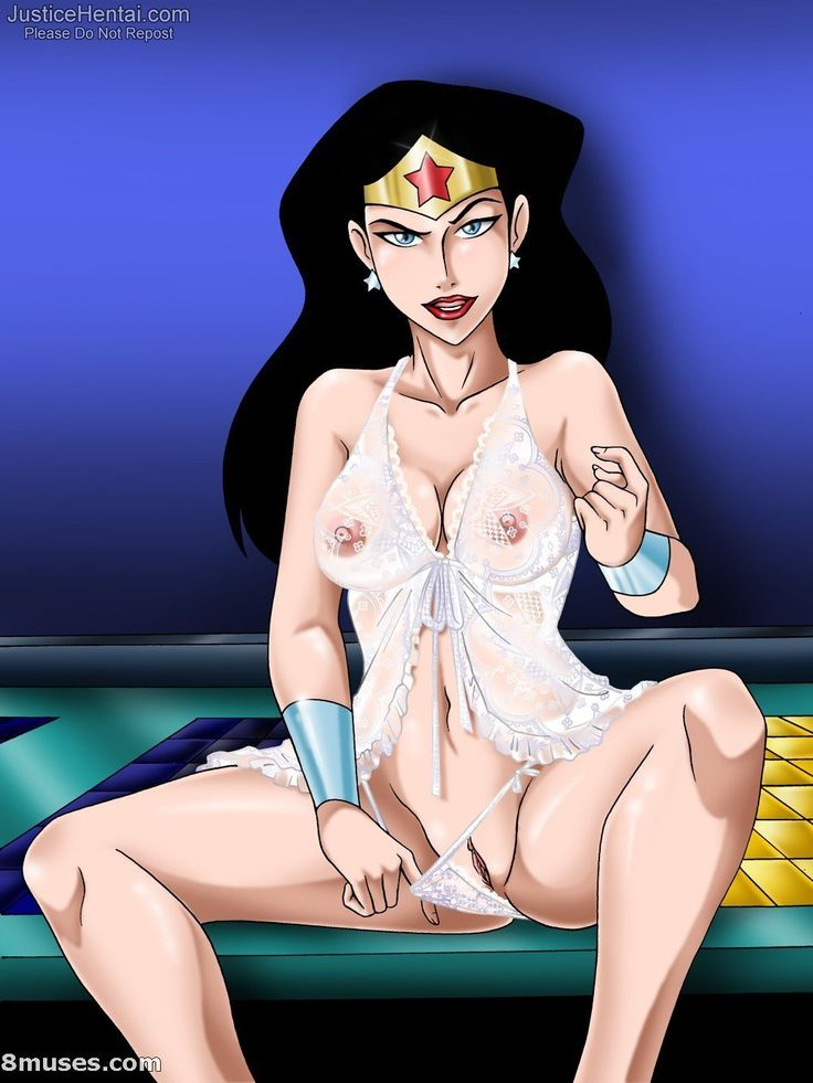 from Misael hot naked superhero women