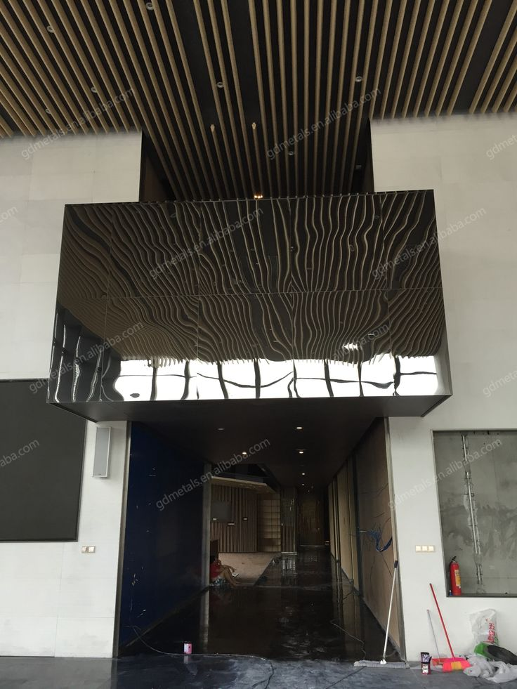 Stainless steel wall decorative panel