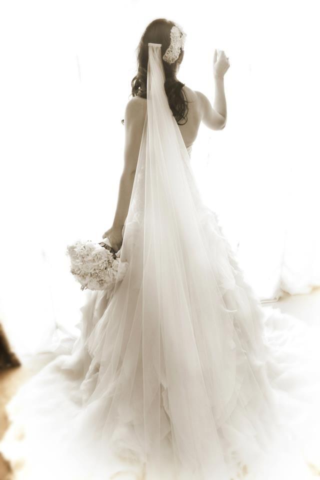 V E I L  Laura & Anthony's Wedding  #stephaudino #SABride
