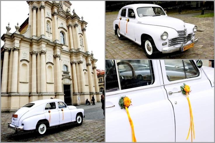 Dekoracja auta retro