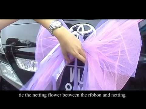charmingbows.com Wedding chair covers. Make & Sell $$$$ home biz - YouTube