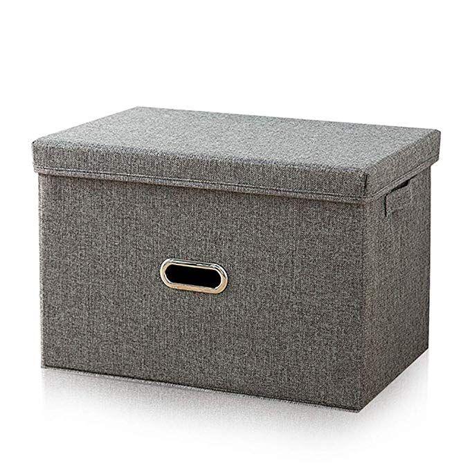 Plecupe Kleider Aufbewahrungsbox Mit Deckel Faltbare