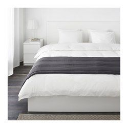 IKEA - GULLREGN, Bed runner, , Extra soft since the bedspread is quilted.Packaging designed as a storage bag. Easy to protect, transport and store the product.