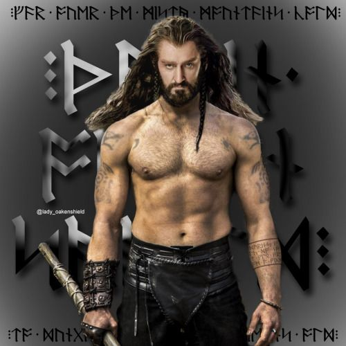 I decided we needed more shirtless Thorin pics so here ya go!