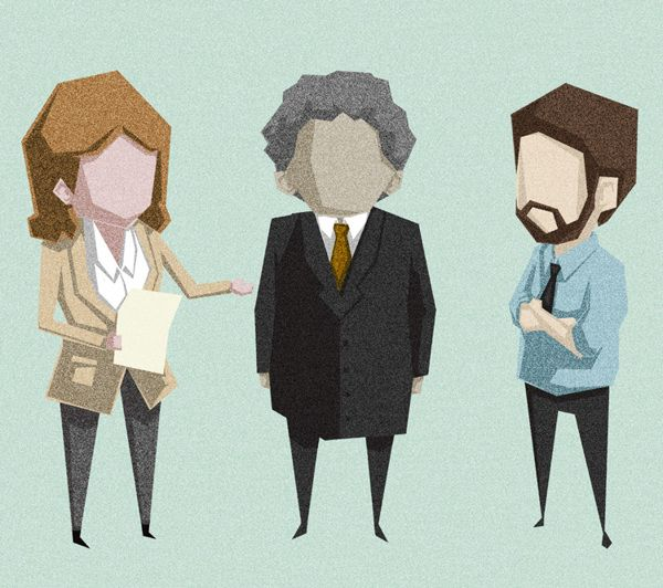 Healthcare Characters by Gemma Gould, via Behance
