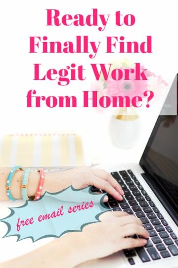 legit free work from home information