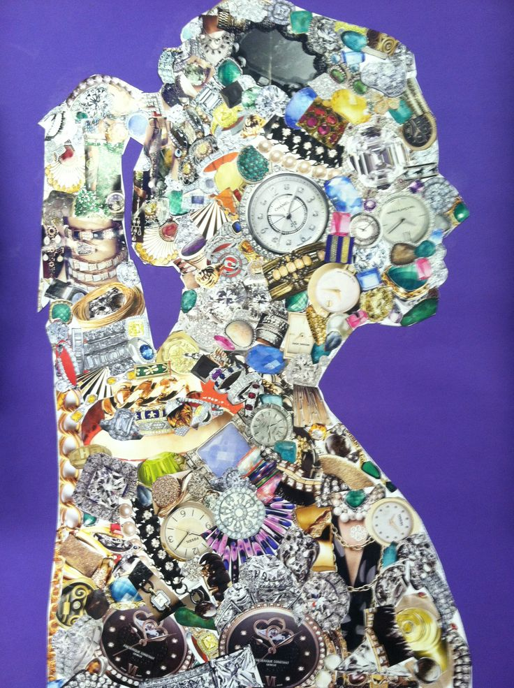 Magazine Collage Art Projects The art teacher at male h.s