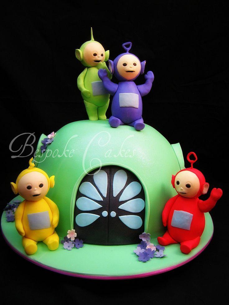 Tinky Winky Dipsy Laa Laa Po Birthday Cake Kids Parents