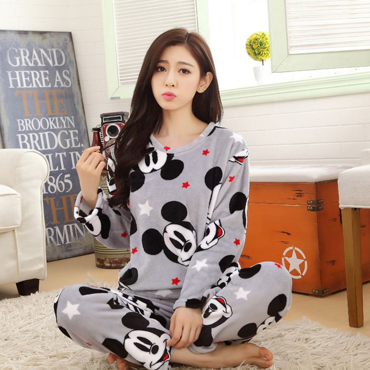 Cheap women duo, Buy Quality women pettiskirt directly from China pyjama men Suppliers:            Flannel Mickey Pajama Feminino Pijama Mujer Pijamas Entero Pyjamas Primark Pajamas Kigurumi Pyjama