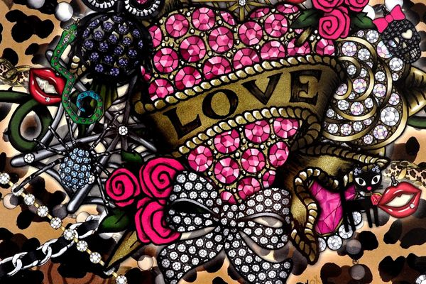 I LOVE Betsey Johnson, her stuff always has unexpected patterns and color combinations that speak to the preppy girly girls and the punky tough chicks. Her designs create styles that are easily used in everyday life while still looking high fashion and fabulous. Betsey has to be the most amazing Kick Butt Styling grandma that I have ever heard of. She manages to stay true to her personal style while speaking to the younger generation in a way that has made her classic. XOX LOVEFashion, Johnson Jewelry, Betsy Johnson, Style, Betseyjohnson, Design Temporary, Johnson Design, Betsey Johnson, Temporary Tattoo