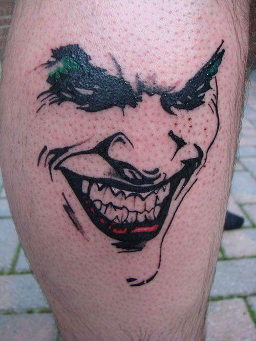 Distinctive Joker Tattoo