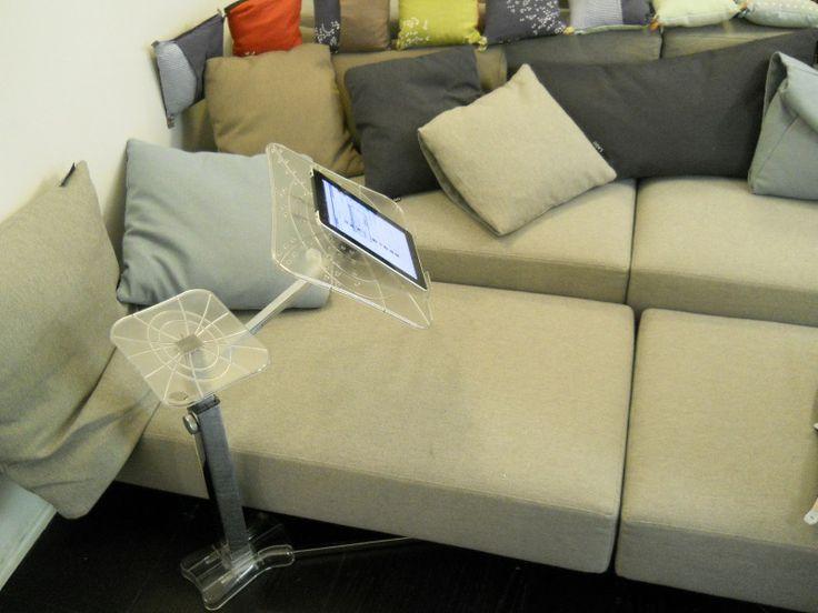 Appartamento Lago Milano Brera 2011 Lounge-book Chrom support a tablet for sofa