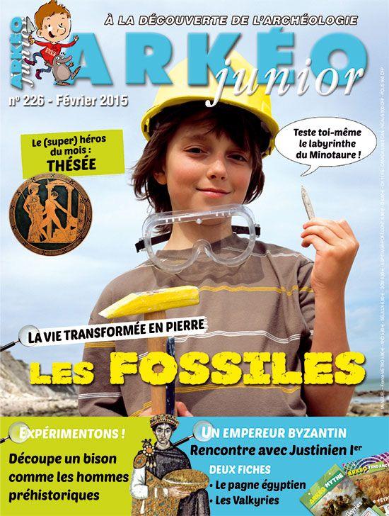 Arkéo Junior n° 226 - février 2015