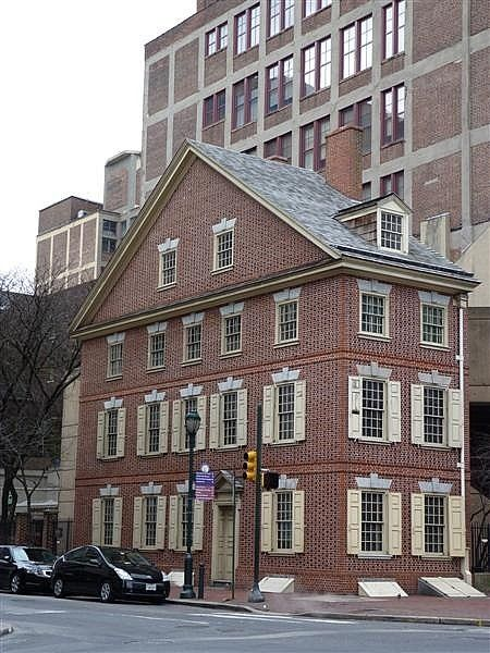 Declaration House ~ Philadelphia. In 1776 Thomas Jefferson rented rooms at the Declaration House. This is where he wrote the Declaration of Independence.