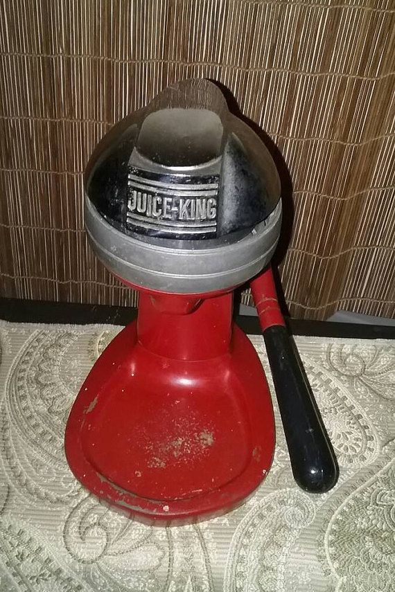 Check out this item in my Etsy shop https://www.etsy.com/listing/472342481/juice-king-mid-century-citrus-juicer