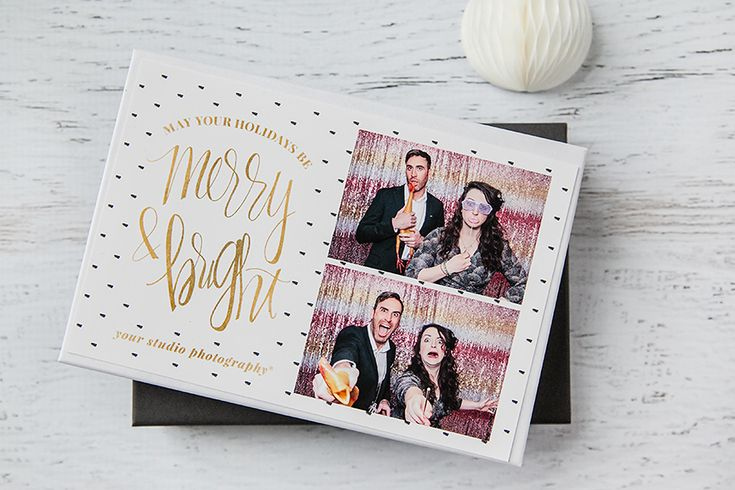 Send guests home with a branded takeaway from every event with these fabulously shareable photobooth templates.