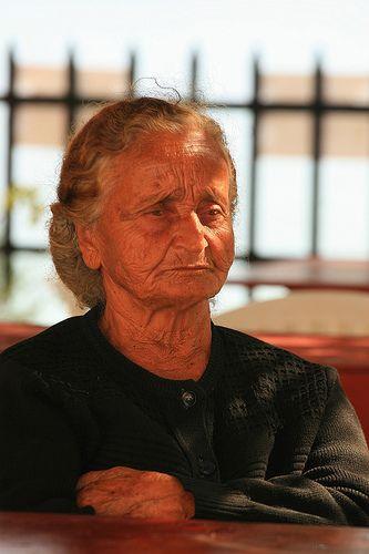 Elderly woman. Kalymnos island, Greece by Marite2007, via Flickr