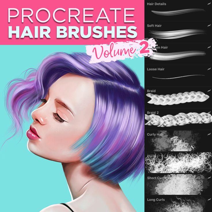 29++ Anime hair brushes procreate ideas in 2021