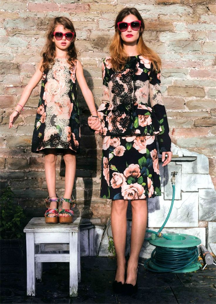Bianca Balti and her daughter. Photo by Martin Parr for Grey SS 2013