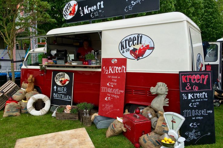 Food Truck Festival TREK, Utrecht, The Netherlands.