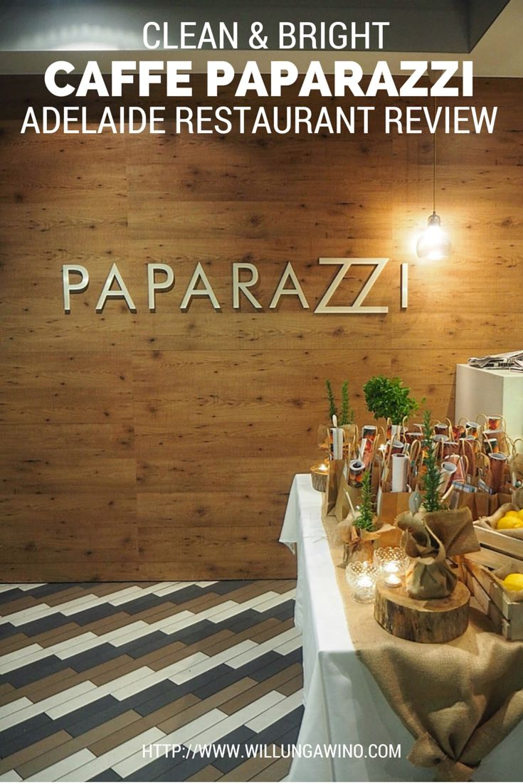 Caffe Paparazzi blend a clean eating menu with a separate traditional Italian one. Something for everyone!
