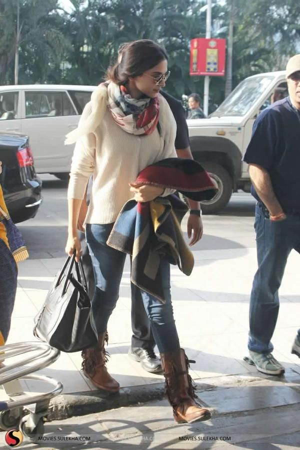 deepika ♥ at the airport