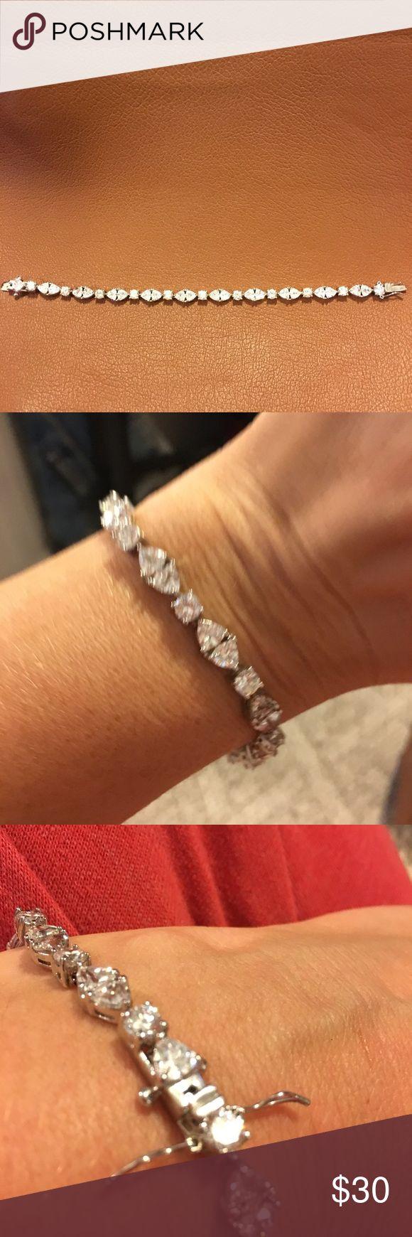 Park Lane Tennis Bracelet Cubic Zirconia bracelet from Park Lane Park Lane Jewelry Bracelets