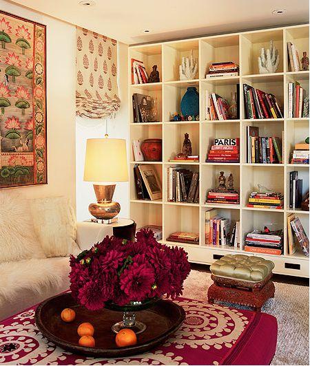 perfectBookshelves, Indian Summer, Shelf Style, Colors, Bohemian Living, Interiors Design, Living Room, Bookcas, Bohemian Style