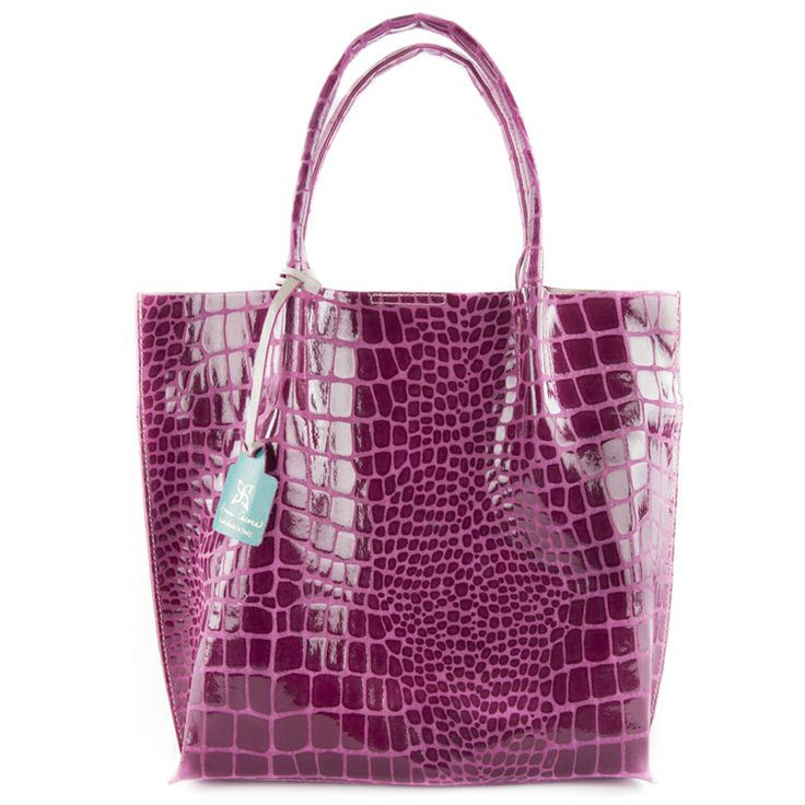 Alice viola - borsa viola a mano in vera pelle by kokomamas collections spring summer 2014 (bags and accessorized)