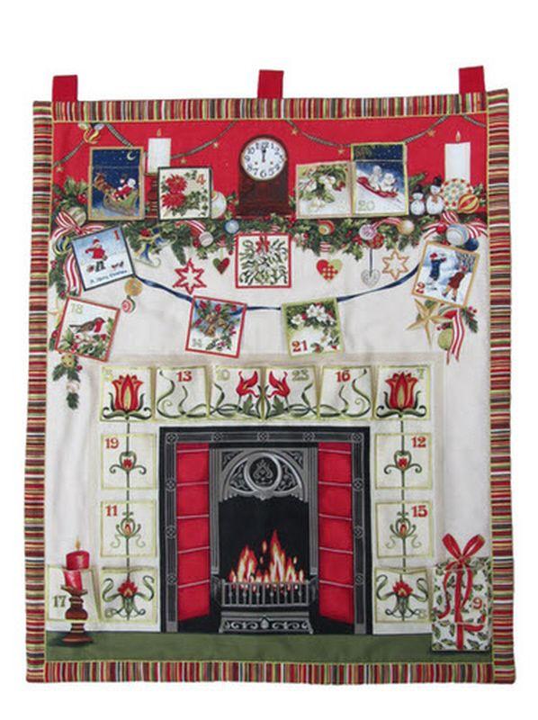 Fireside Fabric Advent Calendar